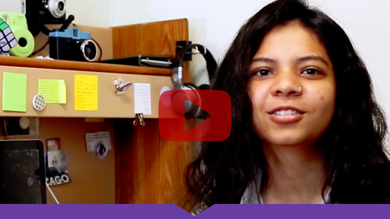 Shuchita Poddar '22 talks about her Knox experiences: Watch the video