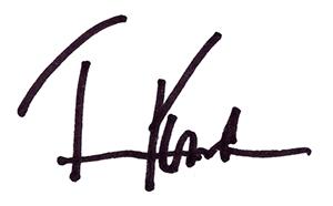 Tim Foster signature