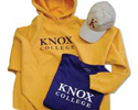 Knox merchandise available at The Knox Shop