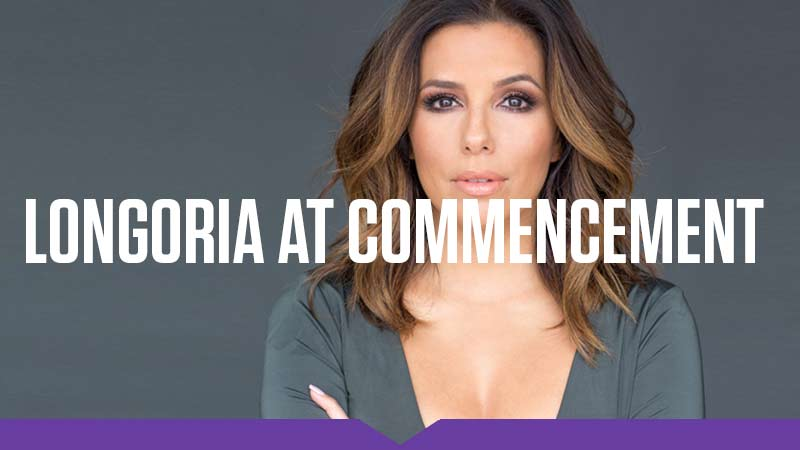 Eva Longoria will give the 2017 Commnecement Address at Knox College.