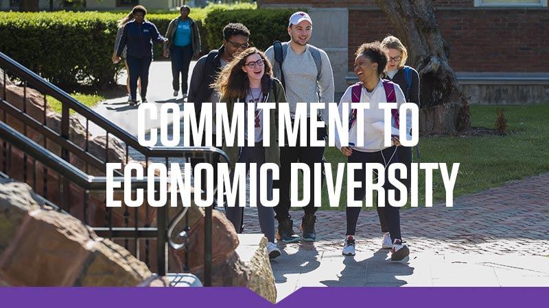 Commitment to economic diversity