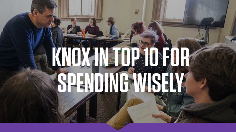Knox Ranked in US News Top 10 Most Efficient Colleges