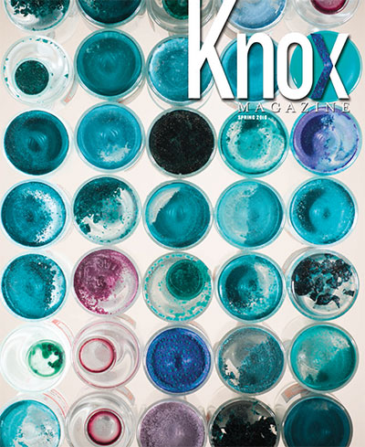 Knox Magazine Spring 2016 Cover