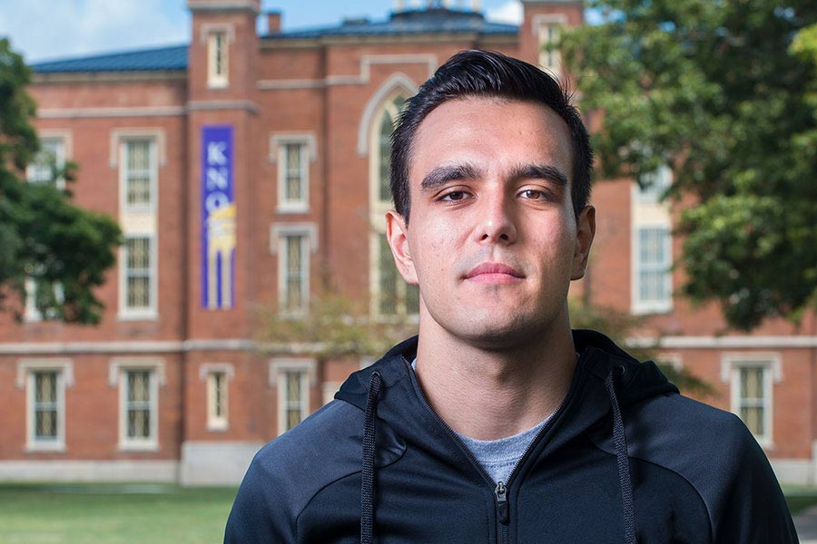 After Internship, Phelipe Graske '18 Receives Job Offer from Goldman Sachs