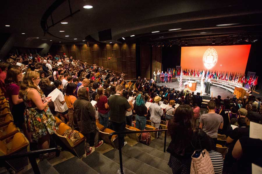 Opening Convocation is a Knox College tradition that celebrates the official start of the academic year