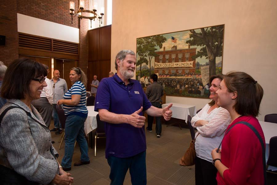 Computer Science Professor John Dooley retires