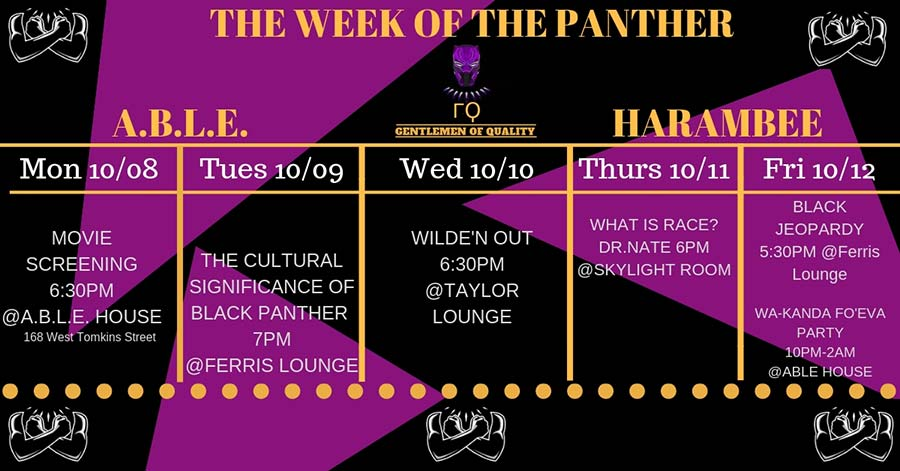 Week of the Panther