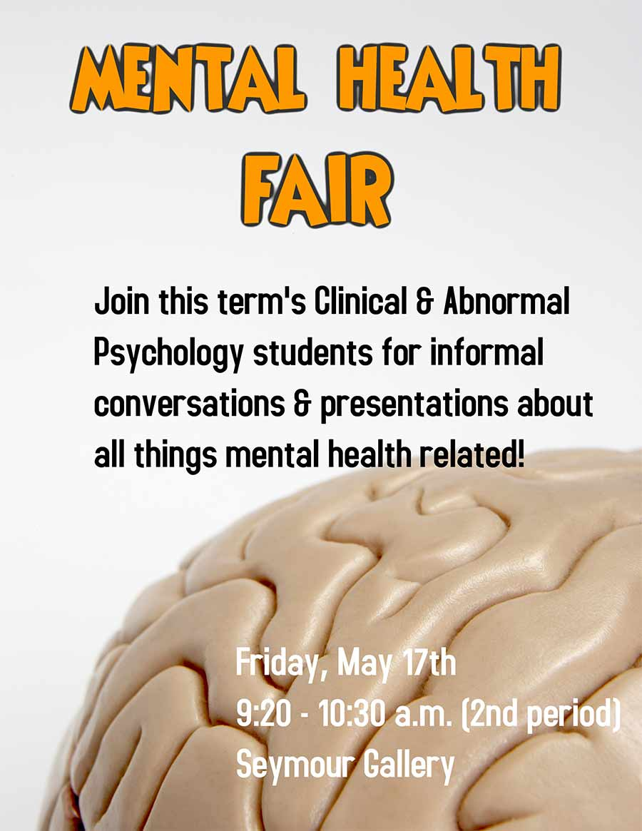Mental Health Fair
