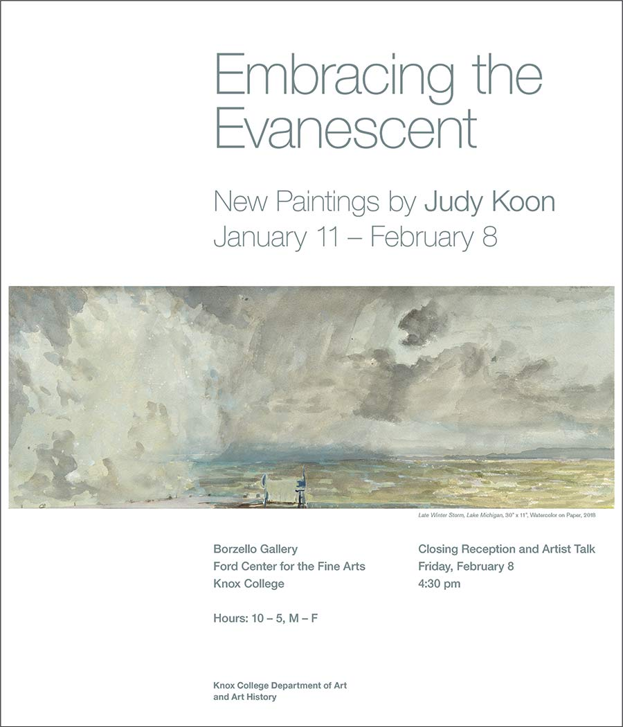 Embracing the Evanescent: New Paintings by Judy Koon