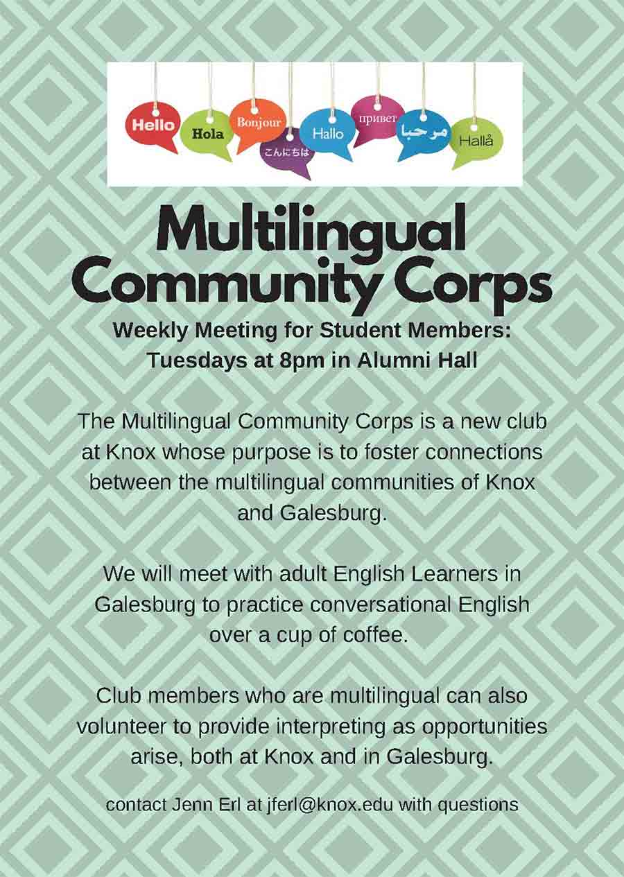 Multilingual Community Corps
