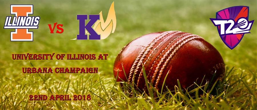 Knox Cricket Club vs. University of Illinois at Urbana Champaign