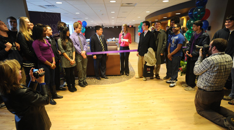 New Taylor Student Lounge Opens