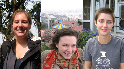 Three Seniors Awarded Fulbright Fellowships