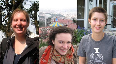 Three Seniors Awarded Fulbright Fellowships