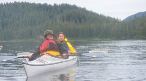 Students Kayak Across Alaska