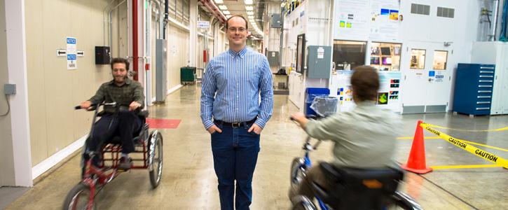 Alumnus Pursues Research at Argonne Lab