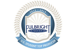 11: Knox's shared rank for the number of students who were awarded Fulbright Fellowships across the nation in 2012