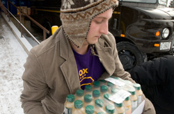 9000: Hours of community service volunteered by Knox students