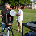 Venus Transit Viewing at Knox Draws a Crowd