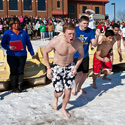 Students Take the Polar Plunge