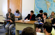 Political Science Class Holds Trial for Historical Figures