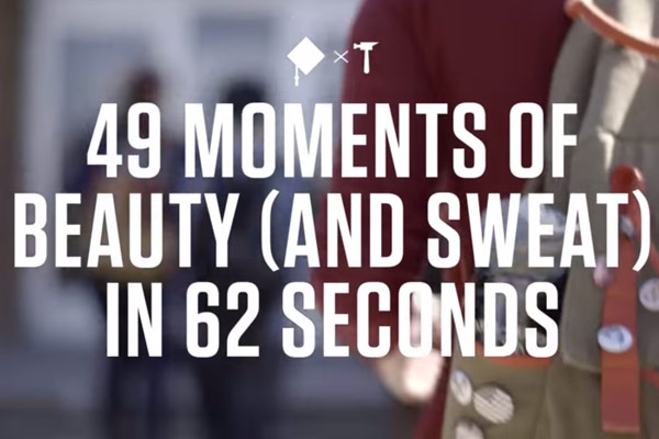 Knox Made - 49 Moments of Beauty (and Sweat) in 62 Seconds