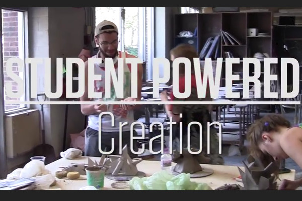 Experience creation at Knox -- from art to theatre to music to creative writing -- shot and edited by students.