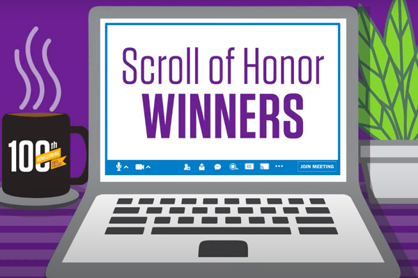 Scroll of Honor Awards