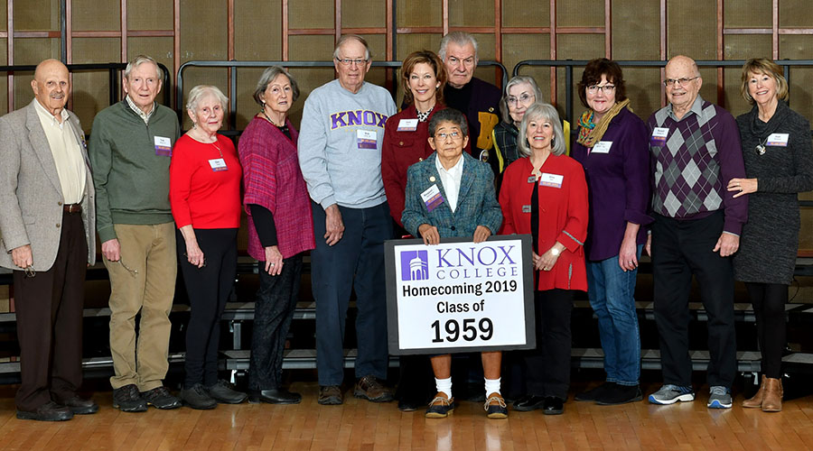 Homecoming 2018 Class of 1958 60th Reunion Class Photo