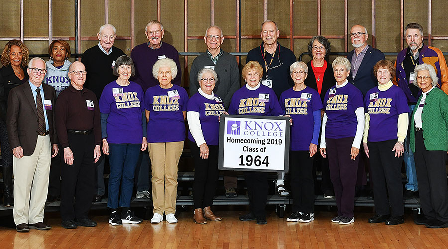 Homecoming 2019 Class of 1964 55th Reunion Class Photo