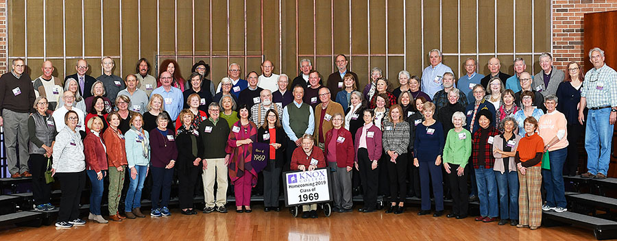 Homecoming 2019 Class of 1969 50th Reunion Class Photo