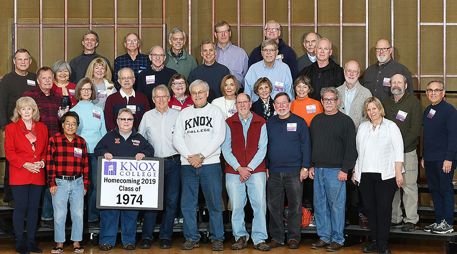 Homecoming 2019 Class of 1974 45th Reunion Class Photo