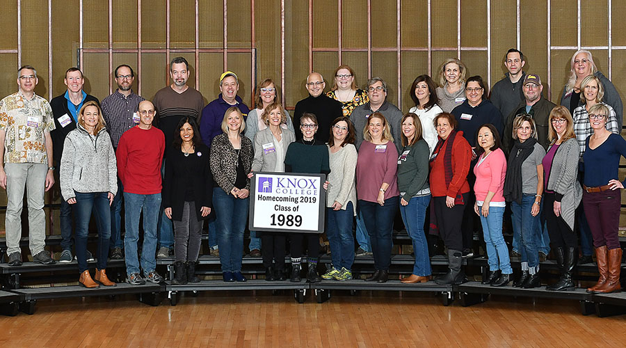 Homecoming 2019 Class of 1989 30th Reunion Class Photo