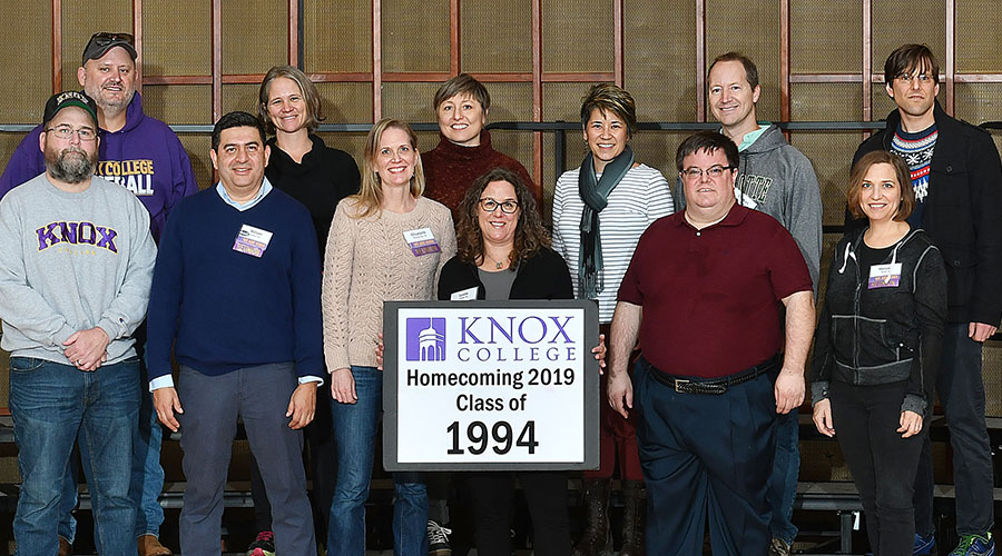 Homecoming 2019 Class of 1994 25th Reunion Class Photo