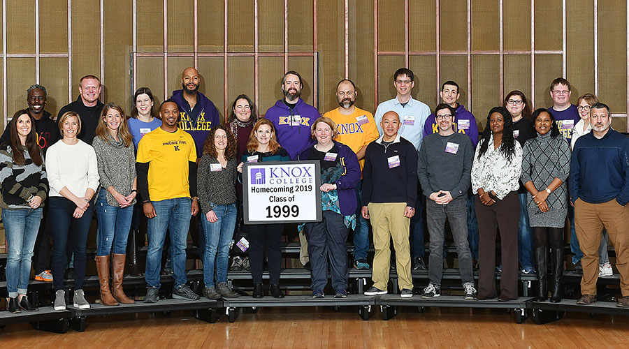 Homecoming 2019 Class of 1999 20th Reunion Class Photo