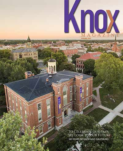 Knox Magazine Spring 2017 Cover
