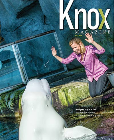 Knox Magazine Fall 2016 Cover