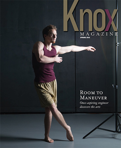 Knox Magazine Spring 2015 Cover