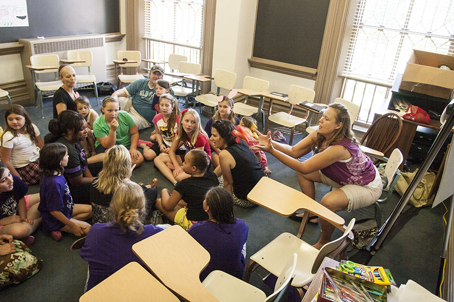 Knox College for Kids is an annual program supported in part by Education students.