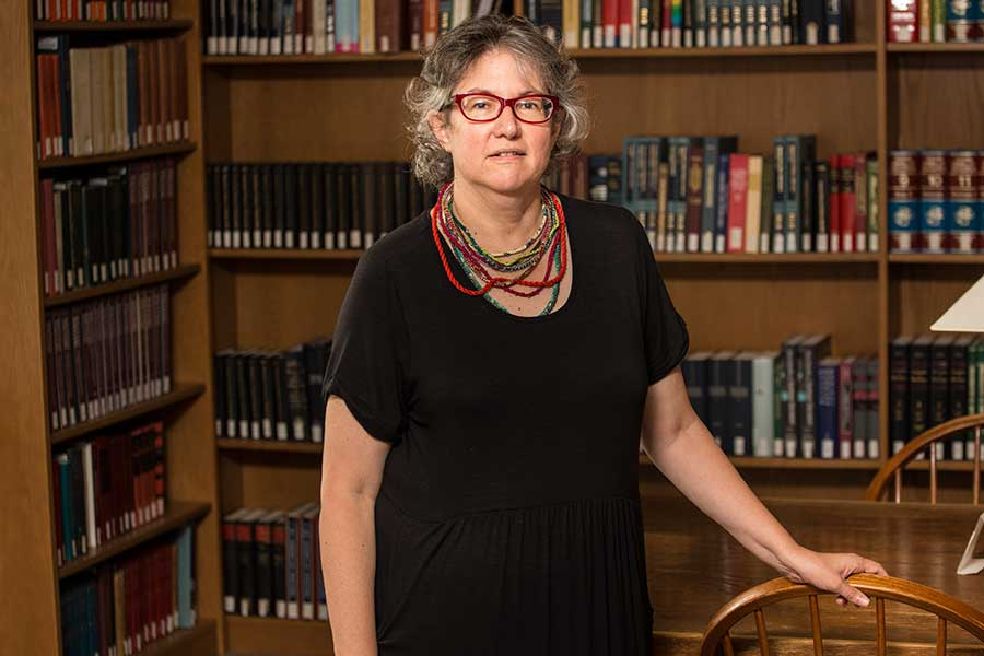 Associate Professor of Mathematics Mary Vlastnik Armon