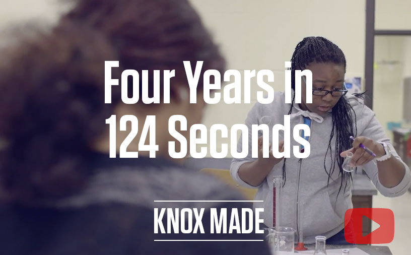 Four Years in 124 Seconds