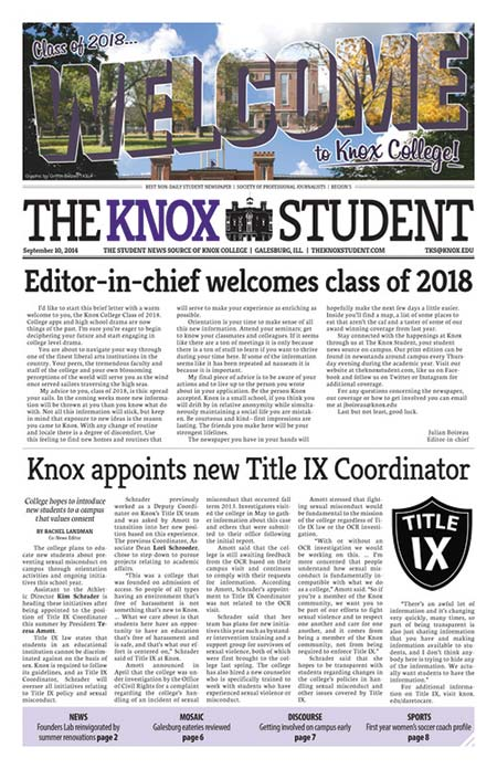 The Knox Student