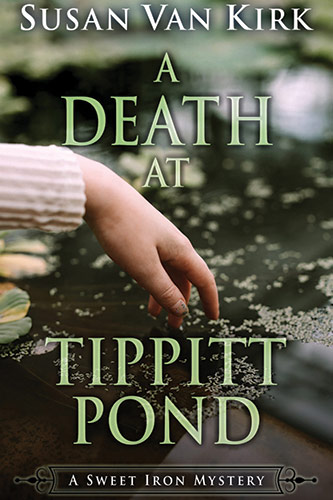 Book Cover - A Death at Tippitt Pond (A Sweet Iron Mystery)