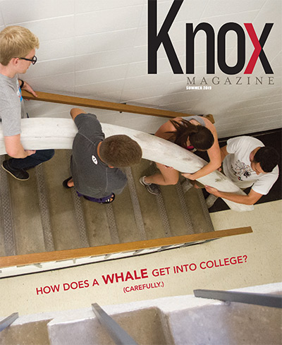 Knox Magazine Summer 2019 Cover