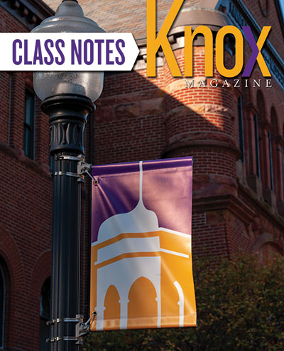 Knox Magazine Class Notes Fall 2020 Cover
