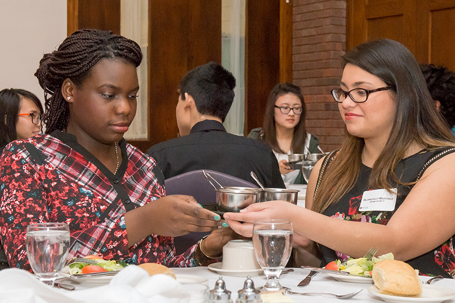 Etiquette Dinner Teaches Professional Skills for Life