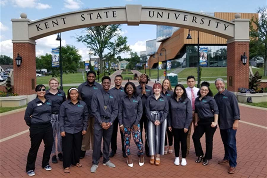 Summer 2019 Scholars at the Midwest McNair Conference at Kent State University