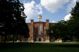 Old Main, Knox College, Galesburg, Illinois