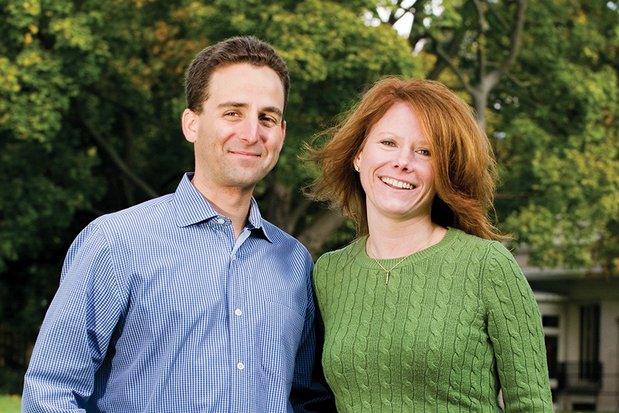Reid '94 and Jennifer Quinn Broda '94