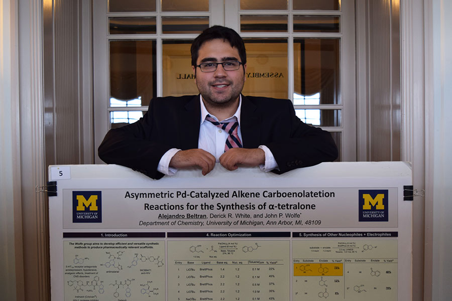 Alejandro Beltran worked as a student researcher at the University of Michgan.